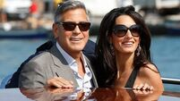 Clooney marries lawyer in Venice