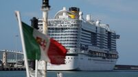 Cruise ship locked down over coronavirus fears in Italy