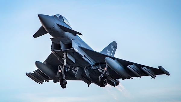 Sonic boom over London caused by Typhoon jets scrambled to ...