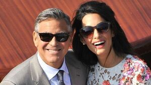 Clooney plans post-wedding bash