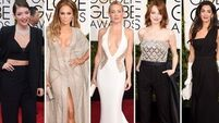Our top five best dressed at last nights Golden Globes