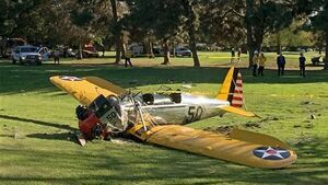 Doctor stunned when he discovered plane-crash victim was Harrison Ford