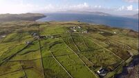 Islands of Ireland: Coast is Clare in Co Mayo