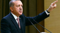 Turkish offensive into Syria under way, says Erdogan