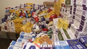 Cigarette haul indicates flourishing illegal market, say retailers