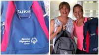 Social media helps reunite Special Olympic athlete with bag after it was stolen in Spain