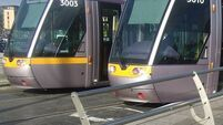 Penalty points for drivers who break Luas red lights