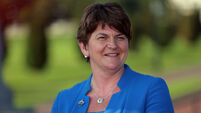 Arlene Foster remains as only unionist in faltering powersharing government