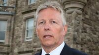 Peter Robinson taken to hospital after medication reaction
