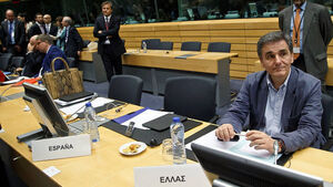 EU and IMF begin bailout talks with Greece