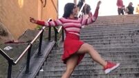 Cork woman juggles media requests after recreating that dance on Joker steps