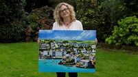 Cork mother's Kinsale Harbour painting turned into a jigsaw