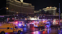One killed, dozens hurt as car ploughs into pedestrians in Vegas in 'intentional' but not terrorist act