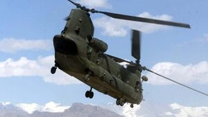 Two RAF service personnel killed in Afghanistan helicopter crash