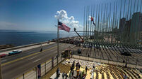 US flag raised in Cuba for first time in 54 years