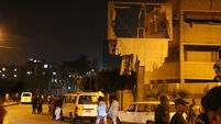 VIDEO: Large bomb injures six near Cairo security building